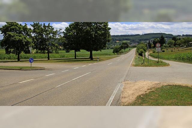 Die Kreisstraße bei Schallbach wird sicherer