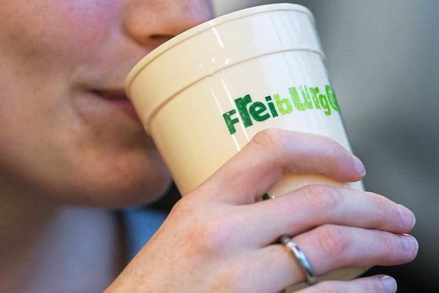 Offenburger Grüne wollen Mehrwegbecher für Kaffee