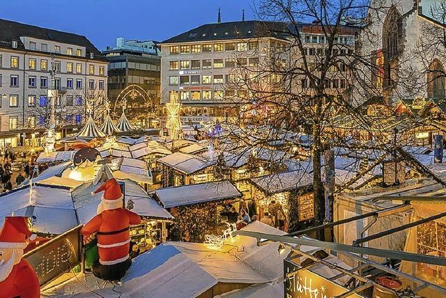 Basler Weihnachtsmarkt öffnet bis 23. Dezember