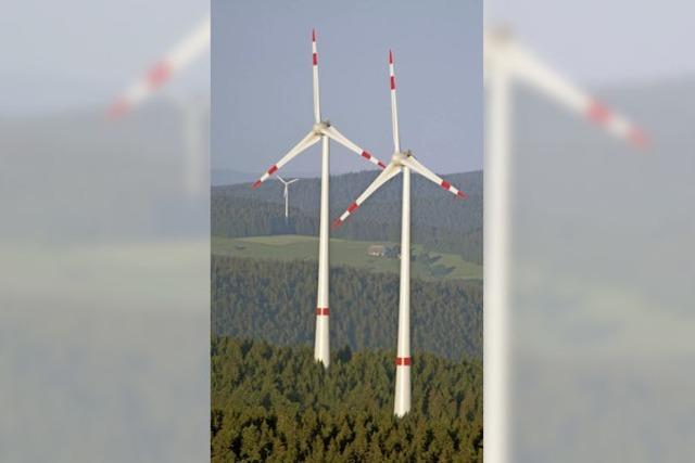 Sechs mögliche Standorte für Windkraftanlagen