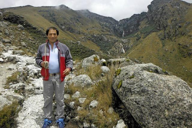 Peruanischer Bergbauer klagt gegen deutschen Energieversorger RWE