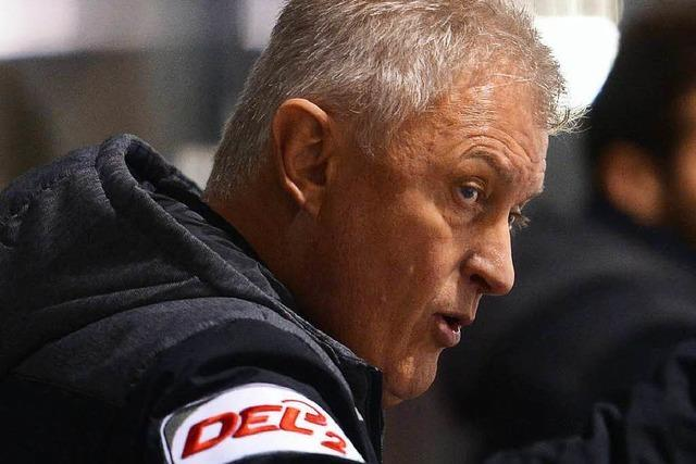 EHC-Freiburg-Trainer Leos Sulak tritt auf die Euphoriebremse