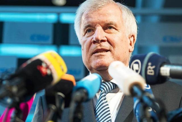 Horst Seehofer fordert wieder Flüchtlings-Obergrenze