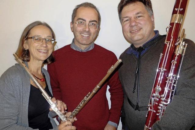 Angelika Kuen-Durando, Gianluuigui Durando, Stefan Strohbusch und Francesca Bonessi in Waldkirch