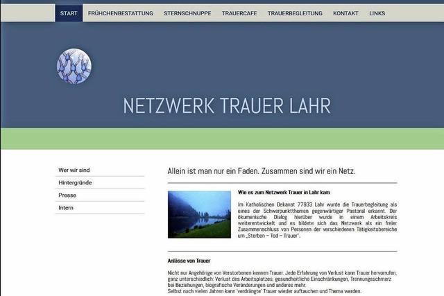 Neue Homepage des Netzwerks Trauer soll Wahrnehmung fördern