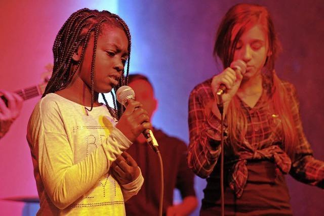 Junge Talente können sich auf der Bühne beweisen