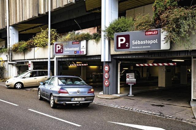 Straßburg will zwei Parkhäuser verkaufen