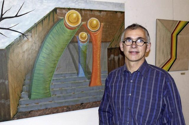 Schmitz zeigt seine lyrischen Bilder