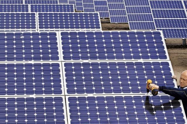 Auf 60.000 Quadratmeter Fläche soll Solarstrom erzeugt werden