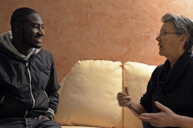 Ababa Mbowe aus Gambia über die Adventszeit in Deutschland