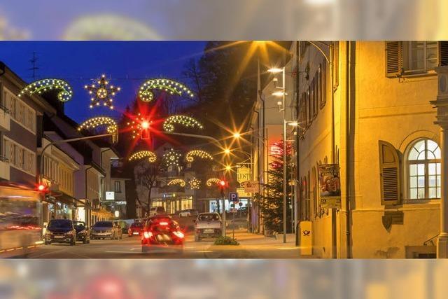 Löwenstadt im Lichterglanz