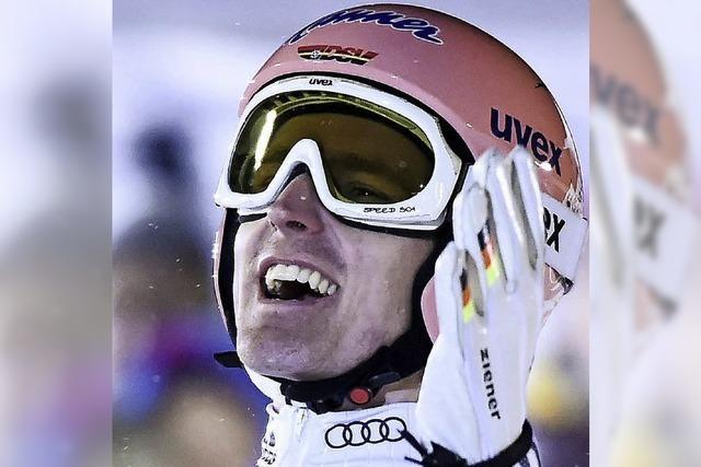 Severin Freund wird in Kuusamo nach langer Verletzungspause Zweiter