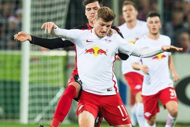 Der Tabellenführer RB Leipzig ist zu stark für den Sportclub