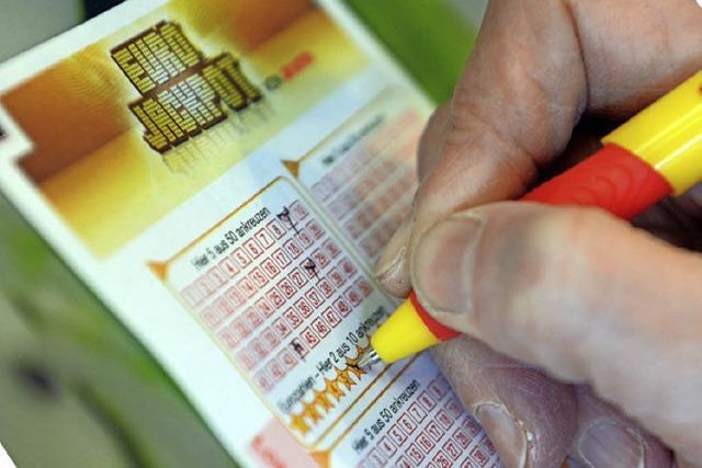 Lottogewinner aus dem Raum Lahr