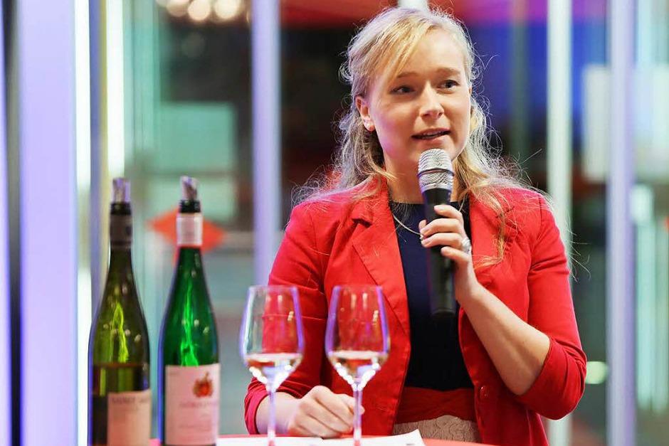 Die 33. BZ-Weinprobe im Foyer des E-Werks Mittelbaden in Lahr (Foto: Christoph Breithaupt)