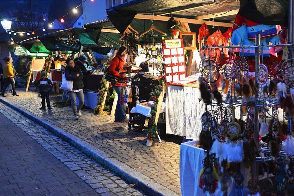 Impressionen vom Weihnachtsmarkt in Bötzingen (Foto: Manfred Frietsch)