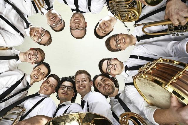 Neue Blasmusik mit der Salaputia Brass Connection