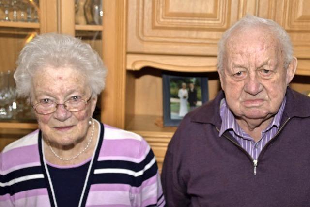 Seit 65 Jahren ein Paar