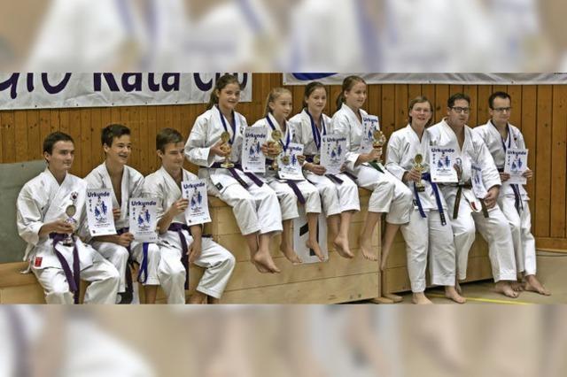 Medaillenregen für HakuRyuKan Kappel