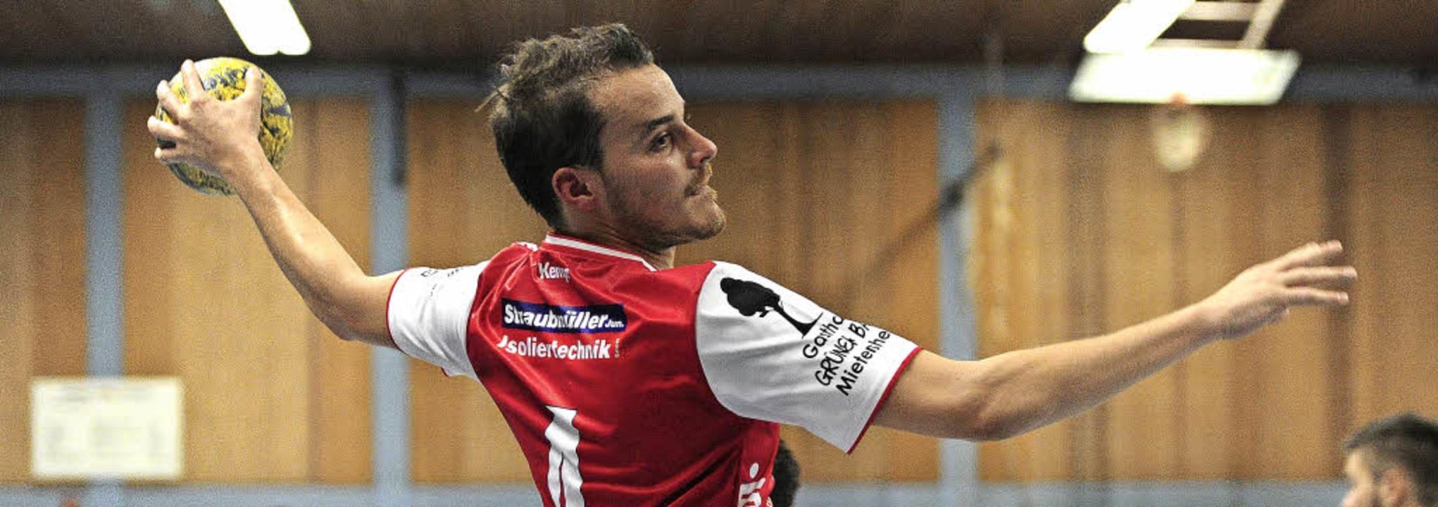 <BZ-FotoAnlauf>HSG Ortenau-Süd: </BZ-F...>Johannes Betzler erzielte acht Tore.   | Foto: schaller