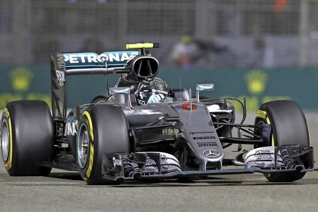 Hamilton gratuliert Rosberg: