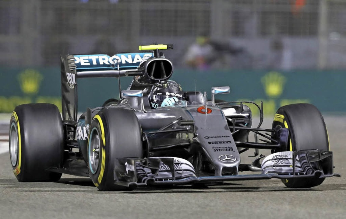 Auf Kurs zu seinem ersten Weltmeistertitel: Nico Rosberg   | Foto: dpa