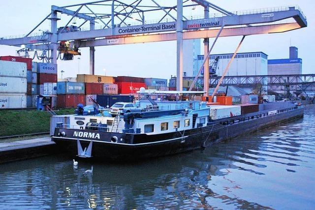 Basler Rheinhäfen wollen bessere Bahnanbindung