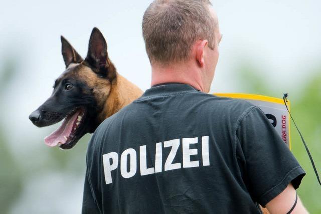 Polizeihund beißt bei Einsatz in Bötzingen zu