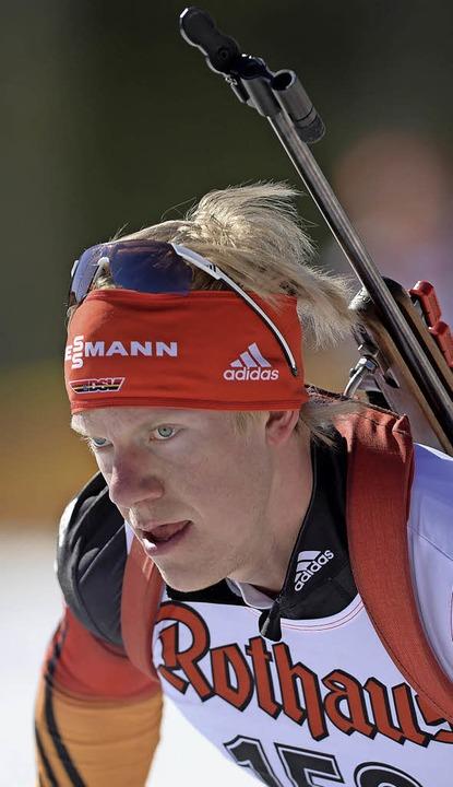 Skijäger mit Potenzial: Roman Rees fiebert seinem ersten Weltcuprennen entgegen.  | Foto: Patrick Seeger