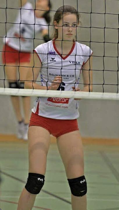 Ergatterte unter 52 Spielerinnen einen...-Club Sm'Aesch Pfeffingen spielt.   | Foto: ZVG