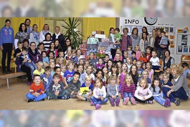 Kinder helfen Kindern und dem Wehrer Tafelladen
