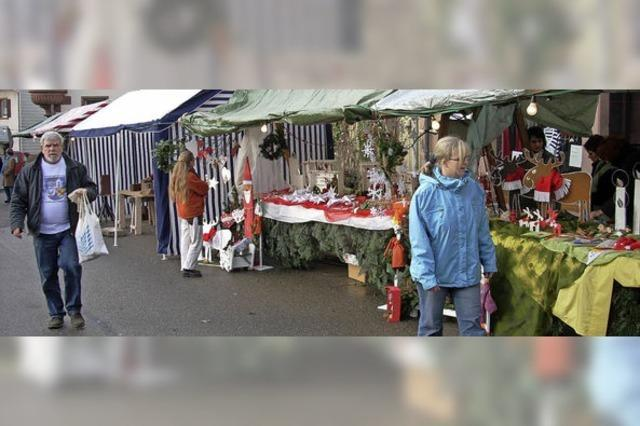 Adventsmarkt um Agathe