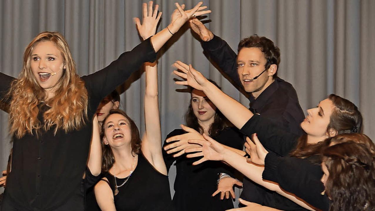 Die Mondo Musical Group zeigte eine tolle Show.   | Foto: Andrea Steinhart