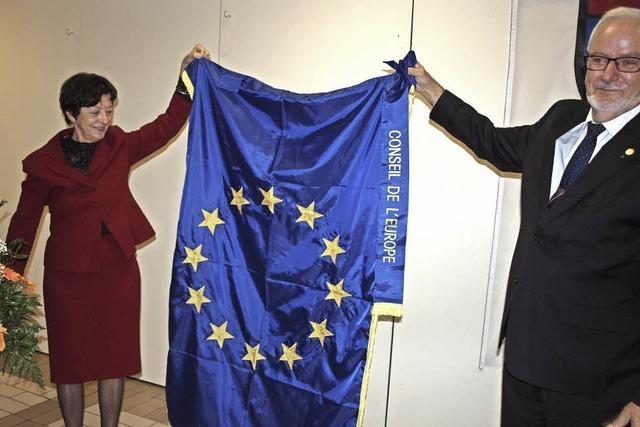 Auszeichnung für Willkommenskultur und europäischen Geist