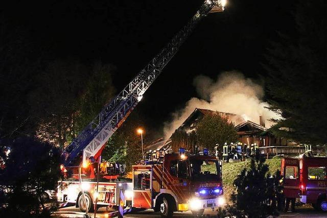 Lokal niedergebrannt