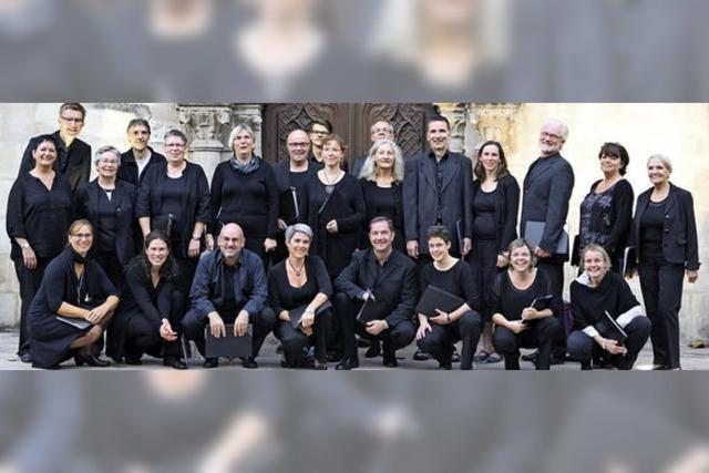 Das Vocalconsort Bad Säckingen singt adventliche Bach-Kantaten im Fridolinsmünster
