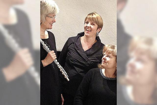 Das Caccini-Ensemble konzertiert in Freiburg-Haslach