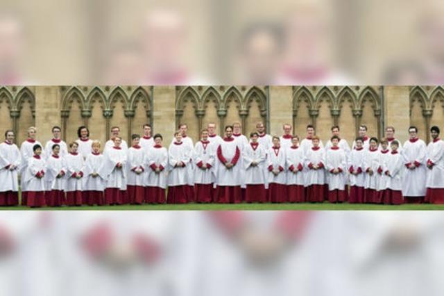Der Knabenchor des St. John's College Cambridge singt in St. Blasien