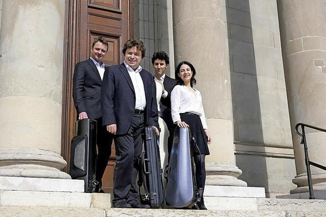 Aviv String Quartet im Bagnato Saal in Rheinfelden