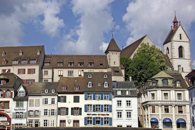 Neuer Band über bedeutende Baudenkmäler der Basler Altstadt