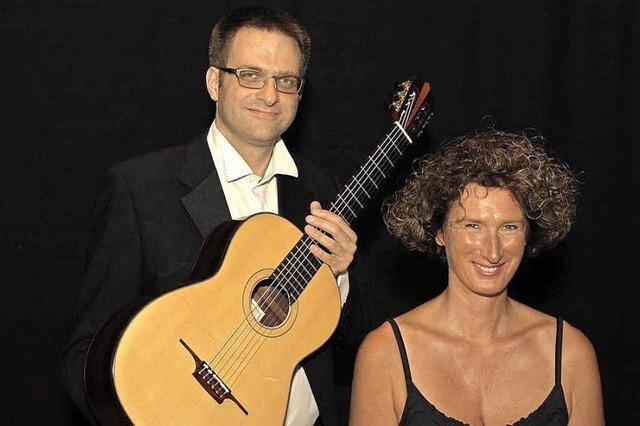 Silke Marchfeld und Sebastian Röhl musizieren in Breitnau-Nessellache