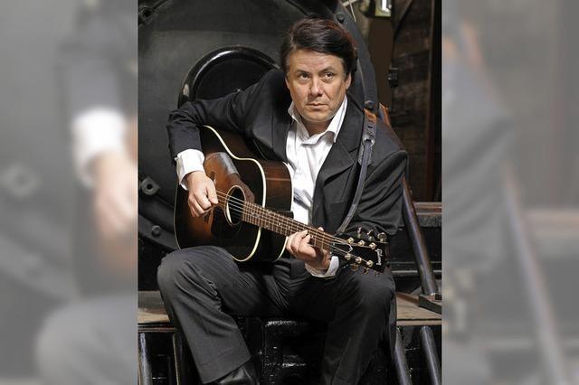 The Wanted Man präsentiert eine Hommage an Johnny Cash in der Wodanhalle