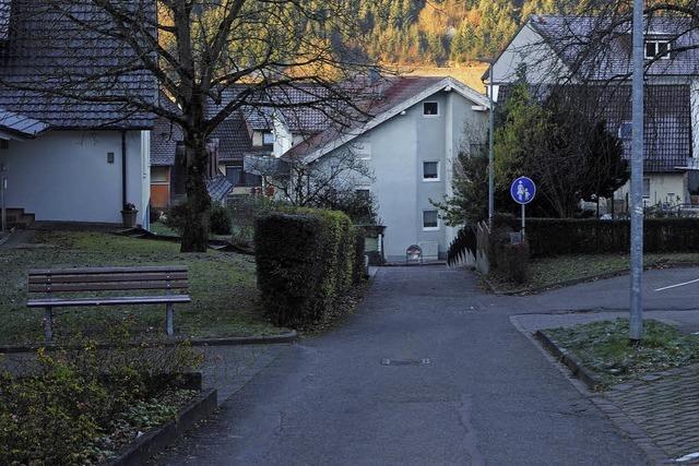 Der Friedhofweg als Zufahrt?