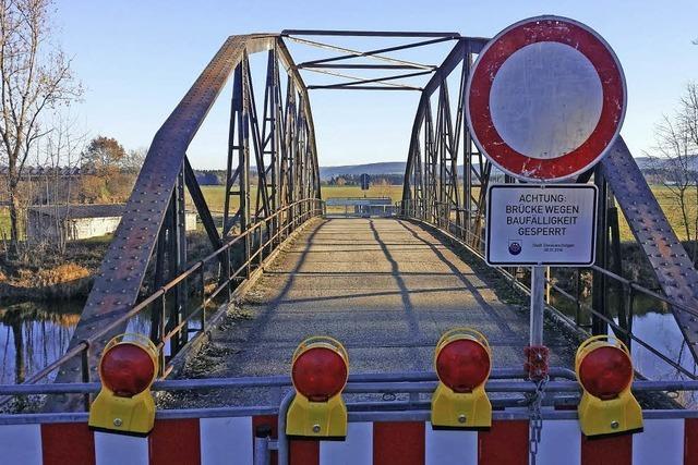 Bregbrücke darf abgerissen werden