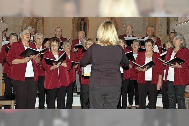 Die ganze Kirche mit Musik erfüllt
