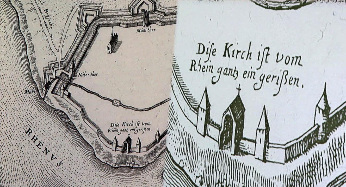 Die Details machen es aus: Ein zeitgen...burger Münsters, herausvergrößert hat   | Foto: Dorothee Philipp