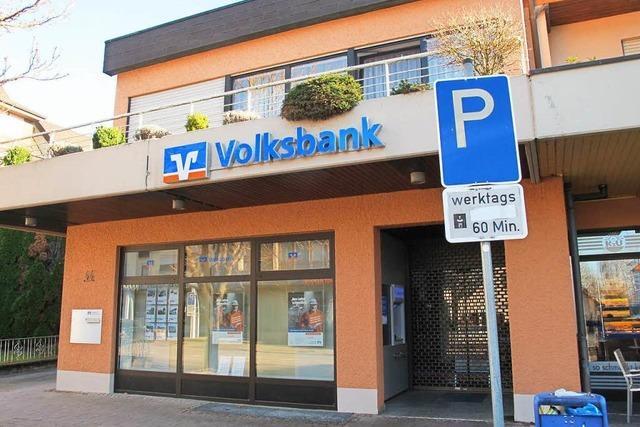 Volksbankfiliale in Bad Bellingen ist nun geschlossen