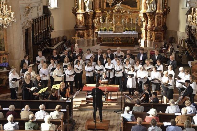 Kirchenchöre Riegel und Endingen in Endingen