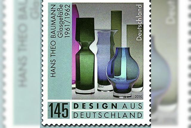 Briefmarke für Baumann