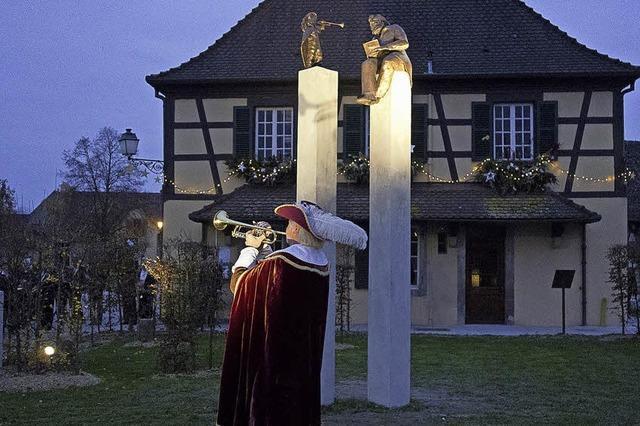 Der Trompeter im Elsass